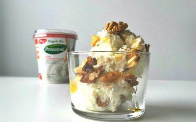 Soja kwark: vegan ontbijt, borrel en dessert