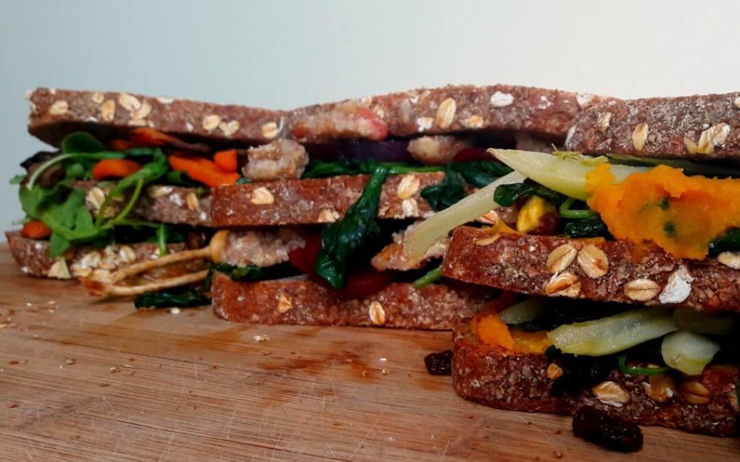 3 x gezonde clubsandwich