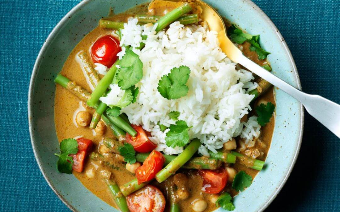 Snel vegetarisch curry recept