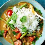 Lekkere vegetarische curry
