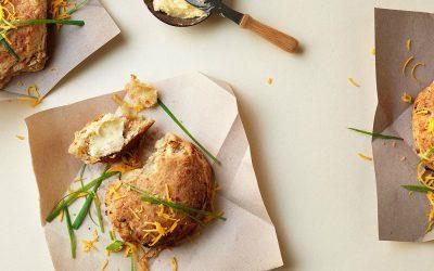 Hartige scones met cheddar