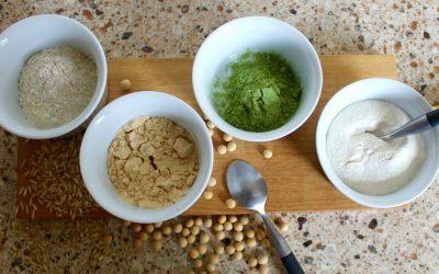 Sportsnack: maak je eigen vegan eiwitpoeder!