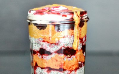 TRENDING: 'Peanut butter jelly'-Chia pudding