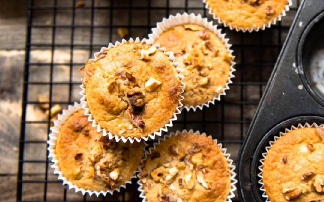 Vegan aquafaba muffins (met kookvocht van peulvruchten)