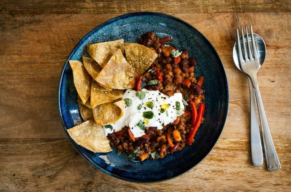 Marley Spoon: Chili sin carne met linzen, bonen en paprika