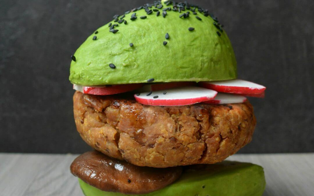 TRENDING: Asian Avocado Burger Buns