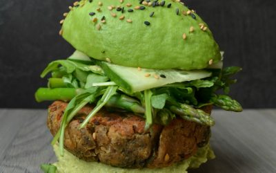 TRENDING: Green Avocado Burger Buns