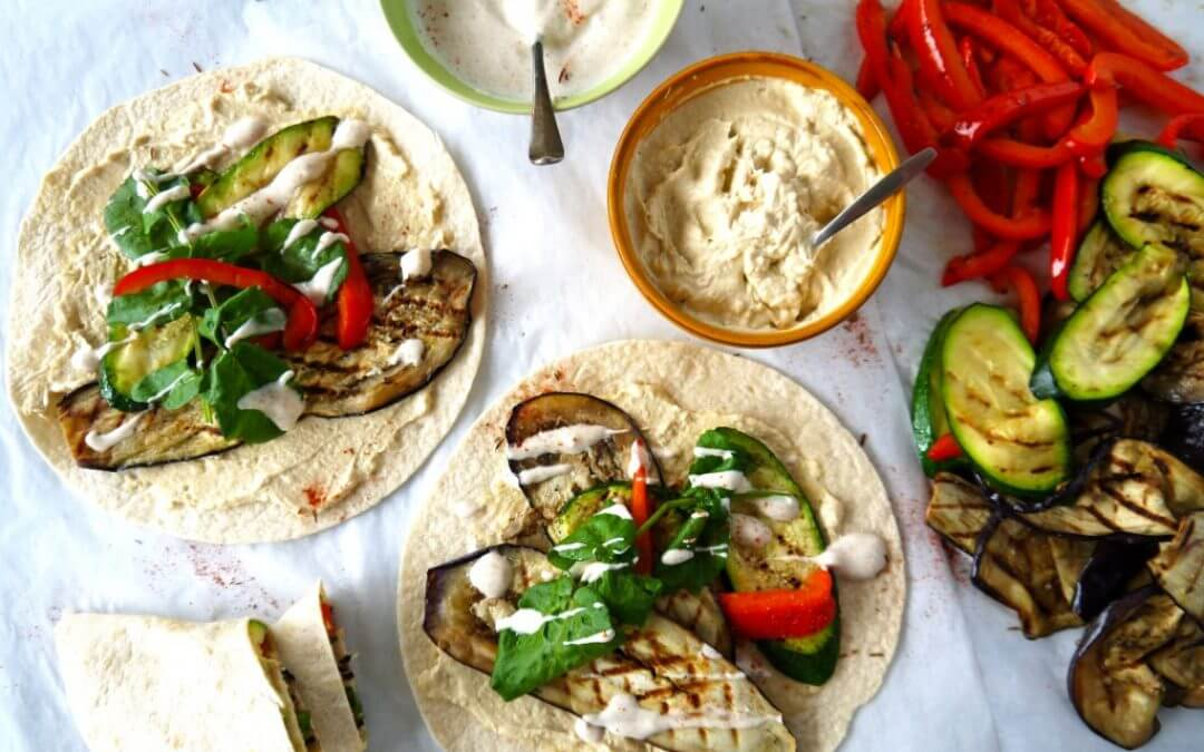Top 5: vegetarische wraps