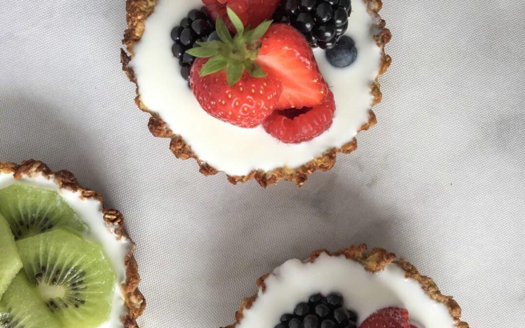 TRENDING: Ontbijt taart met vers fruit