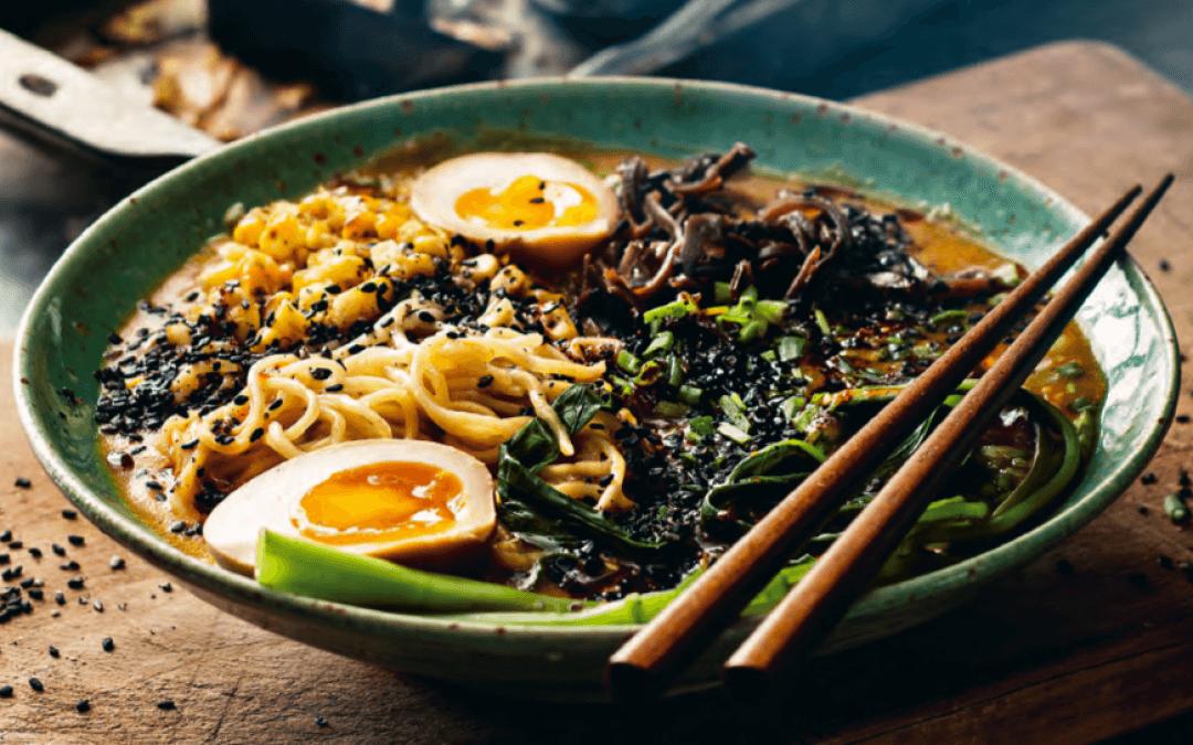 Japanse keuken: Kotteri-groenteramen